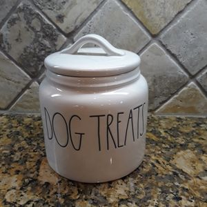 Rae Dunn DOG TREATS Canister